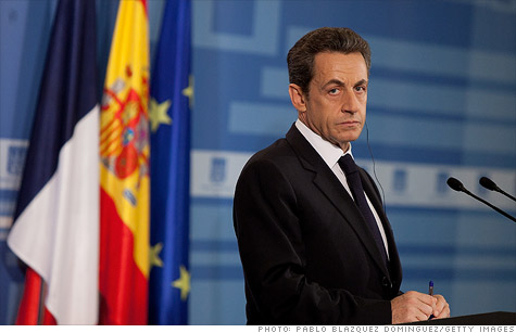French President Nicolas Sarkozy spoke at a press conference just days after Standard & Poor's stripped his nation of its AAA-rating, which also resulted in a ratings cut for the European Financial Stability Facility