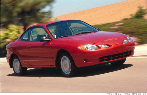 The average car on America's roads is almost 11 years old, about the same age as this 2001 Ford Escort ZX2.