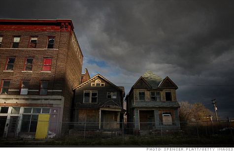 The city of Detroit faces bankruptcy, with a shortfall of $45 million by June.