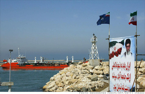 Sanctions will ban the import of Iranian crude to Europe and also target Iran's central bank.