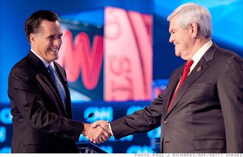 Romney v. Gingrich on the economy