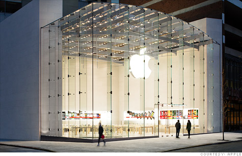 Barack Obama doesn't live here, but this Apple store is worth about as much as his house.
