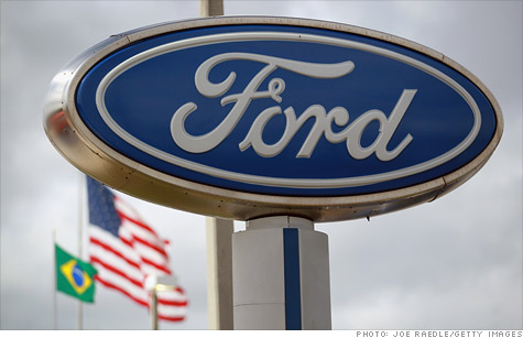 Ford earns $20.2 billion, second biggest profit in company history, due to accounting gain, but quarterly operating results fall short of year-earlier results and forecasts.