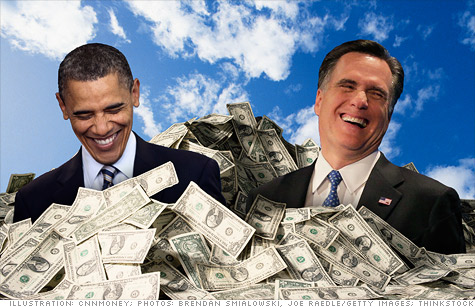 President Obama and Mitt Romney have both displayed substantial fundraising prowess during their campaigns.