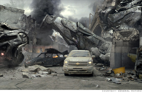 Apocalypse Super Bowl ad causes a tiff between GM and Ford, the two biggest-selling truck makers.