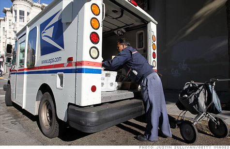 The U.S. Postal Service is the most efficient in the world, according to a British study.