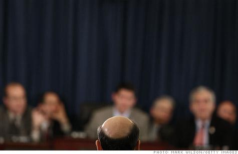 Fed Chairman Ben Bernanke testifies before the House Budget Committee last week.