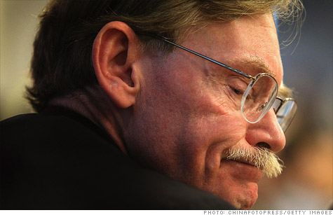 Robert Zoellick, who will step down as president of the World Bank on June 30.