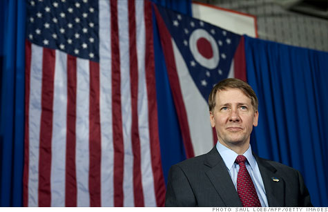 Richard Cordray, the new director of the Consumer Financial Protection Bureau, is targeting debt collectors and credit reporting agencies.