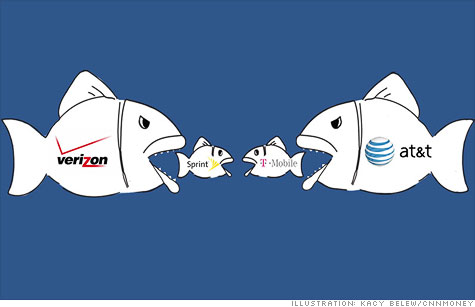 Big wireless carriers are all hunting for spectrum -- which often results in mergers.