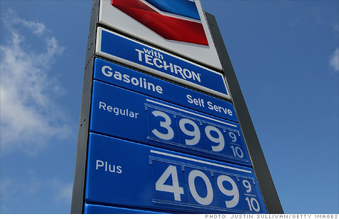 Gas prices are getting dangerously close to $4 -- a level not seen since mid-2008.