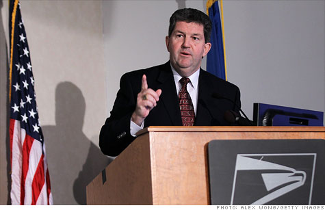 Postmaster General Patrick Donahoe said the closing of 223 plants will impact 35,000 jobs.