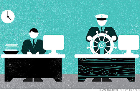 Want a job promotion? Help steer the ship at work.