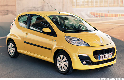 GM is partnering with Peugeot in Europe, an automaker with particular strengths in small, fuel-efficeint cars.