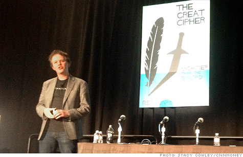CloudFlare CEO Matthew Prince discusses cybersecurity and threats from hackers at the RSA conference.