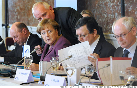 Most EU leaders signed onto a fiscal pact that aims to tighten fiscal discipline and restore confidence in the euro.