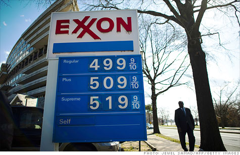 U.S. gas prices continue steady climb, topping $4 in some cities.