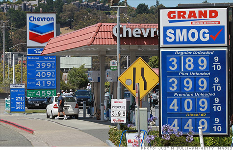There are worse things than high gas prices. Like recession.