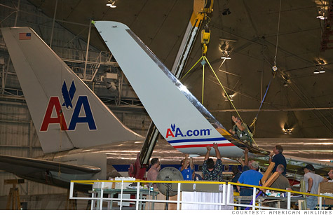 American Airlines' ground workers are to have their pension plans frozen rather than terminated and dumped on a federal agency.