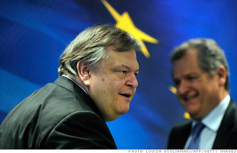 Greek Finance Minister Evangelos Venizelos said Greece is 7 billion euros short of a targeted debt cut of 107 billion euros after a successful bond swap with private investors.