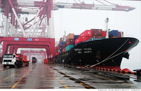 In February, China's economy imported $31.5 billion more goods and services than it exported.