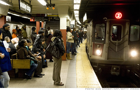 Ridership on mass transit reaches second highest level since 1957 as gas prices soar.