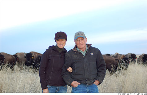 Jill and Dan O'Brien turned their hobby of raising buffalo into a million-dollar-in-revenues business.