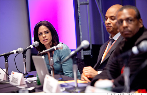 CNN's Soledad O'Brien (left) hosted an SXSW panel discussion on the aftermath of CNN's Black in America 4 documentary.