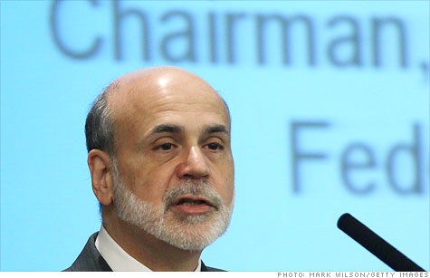 Federal Reserve Chairman Ben Bernanke gave a lecture to a class at George Washington University, telling students that monetary policy did not cause the housing bubble.