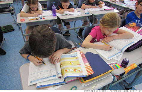 North Penn School District outside of Philadelphia is facing $2.5 million in budget cuts.