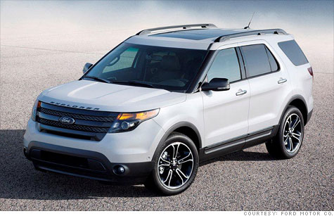 High performance ford explorer unveiled mar 28 2012 for Ford motor company pension calculator