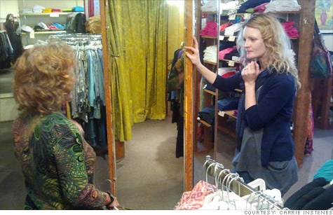 Employees at the Portland, Ore., store Paloma Clothing are all offered health insurance. The shop's co-owner hopes it'll get cheaper if insurance exchanges go online in 2014.
