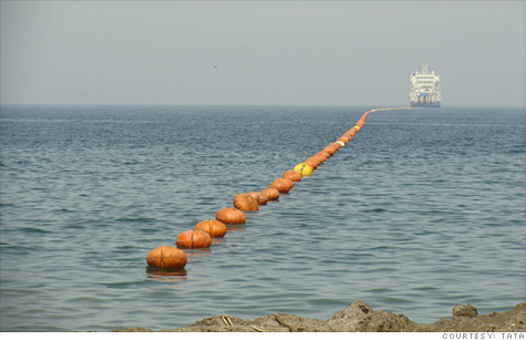 Giant undersea cable speeds the Internet by a split-second - Mar. 30 ...