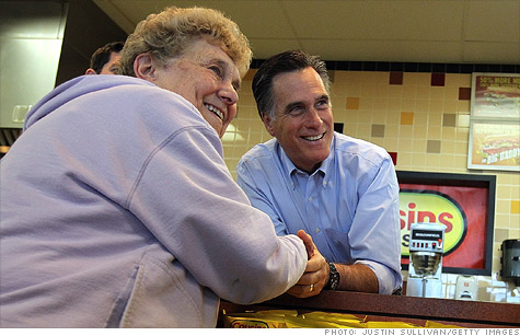 Romney hits Obama on economy