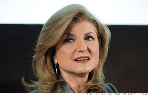 Arianna Huffington has assumed additional duties at AOL.