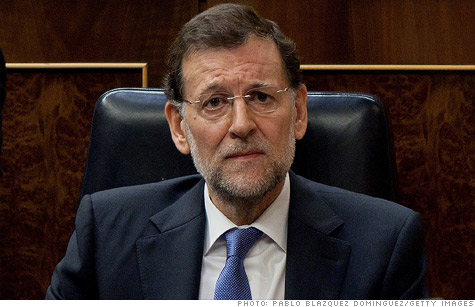 Spanish Prime Minister Mariano Rajoy is trying to push through budget reforms in the face of rising borrowing costs.