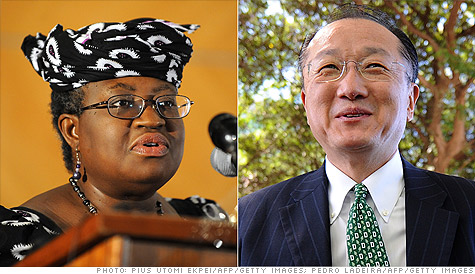 The U.S. nominee for the World Bank presidency is facing challengers for the first time in history.