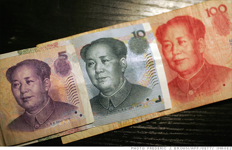 China is slowly loosening restrictions on its yuan currency. The U.S. thinks China is artificially keeping the value of the yuan low to boost exports