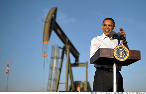 President Obama is looking to limit some oil market activity, saying speculators lead to higher prices.