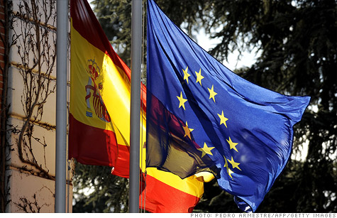 Spain's bond auction was well received, though the government low-balled its volume in order to keep demand brisk.