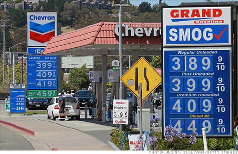 The average price of gas has dropped below $3.90 a gallon, but there are still many states where it tops $4.