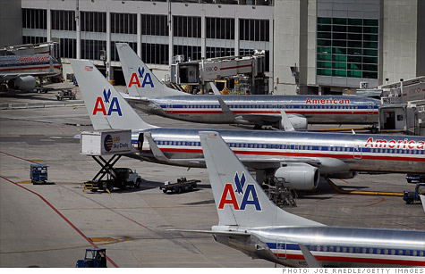 American Airlines blamed high fuel prices, among other things, for its $1.7 billion quarterly loss.