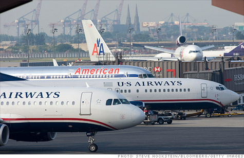 Union workers for American Airlines agreed to a potential merger, announced US Airways on Friday.