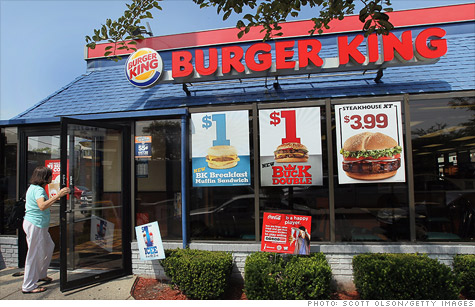 Burger King announced an agreement with the Humane Society Wednesday to shift to cage-free hens.