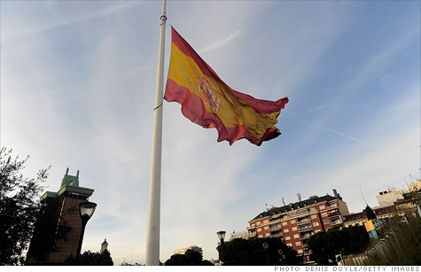 Standard & Poor's downgraded Spain's credit rating Thursday, the latest sign the Europe's debt crisis is once again rearing its head.