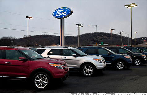 Financing a new vehicle has gotten easier again, especially on larger vehicles.