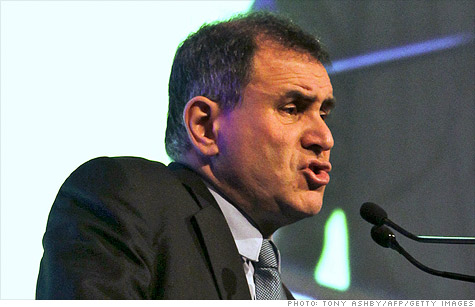 Nouriel Roubini, the economist who predicted the credit crisis, says Iran is now the greatest threat to the world economy.