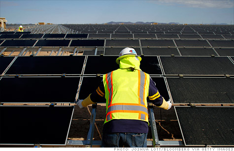 First Solar reported a massive loss on Tuesday.