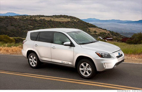 Toyota will sell only a relative handful of the Rav4 EV over the next three years.