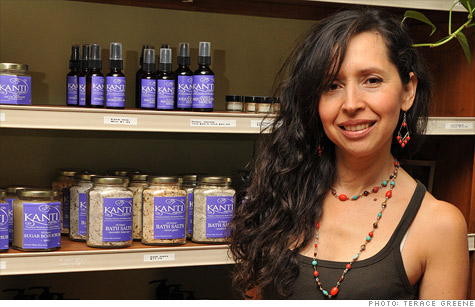 Immigrants like Sandra Giraldo, who makes organic skin care products, are twice as likely to create a firm than those born in the United States.